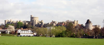 Windsor Castle from Eton